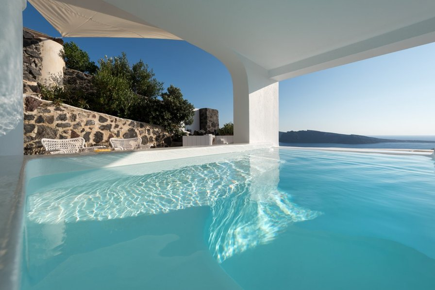 Villa To Rent In Oia Santorini With Private Pool 85152