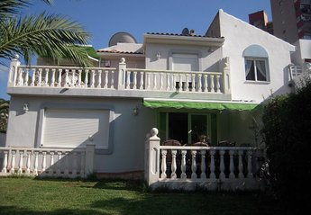 Villa in Benidorm, Spain: Villa View from back garden