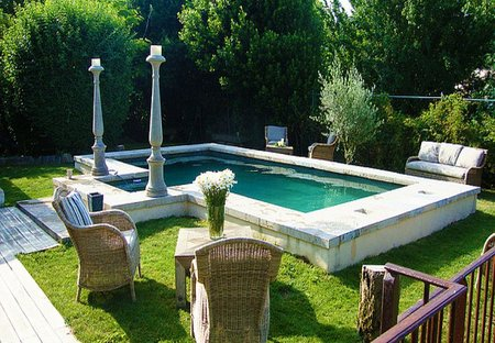 Apartment in Hérépian, the South of France: Pool