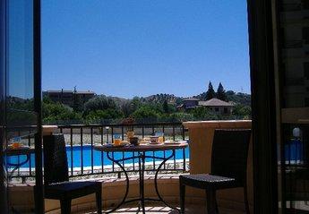 Apartment in Marina di Gioiosa Ionica, Italy: Lounge Balcony View
