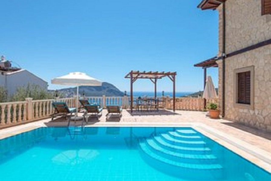 Villa To Rent In Kalkan Turkey With Private Pool 8729