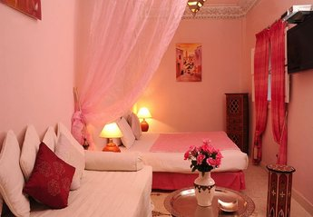Riad in Medina, Morocco: Our beautiful Ouarda suite