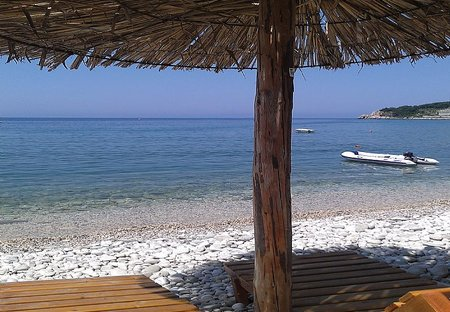 Villa in Ulcinj, Montenegro: beach Kruce 180 m from the house