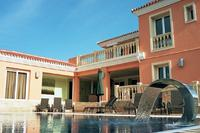 Villa in Miraflores, Spain: The fabulous pool area.