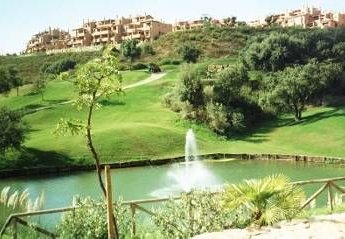Apartment in Marbella, Spain: View of apartment from golf course