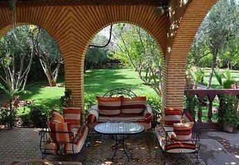 Villa in Menara, Morocco: Welcome to Serenity Marrakech Villa