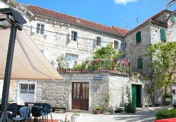 Village_house in Postira, Croatia: Orange Grove House from the Harbour