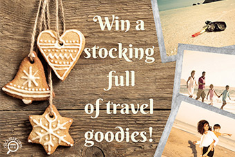 Win a fantastic Christmas travel bundle